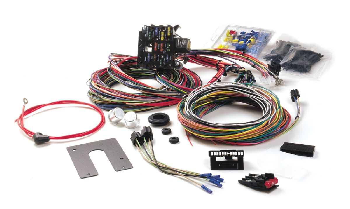 10150 painless wiring chassis wiring harness 21 circuit Painless Wiring Diagram Chevy