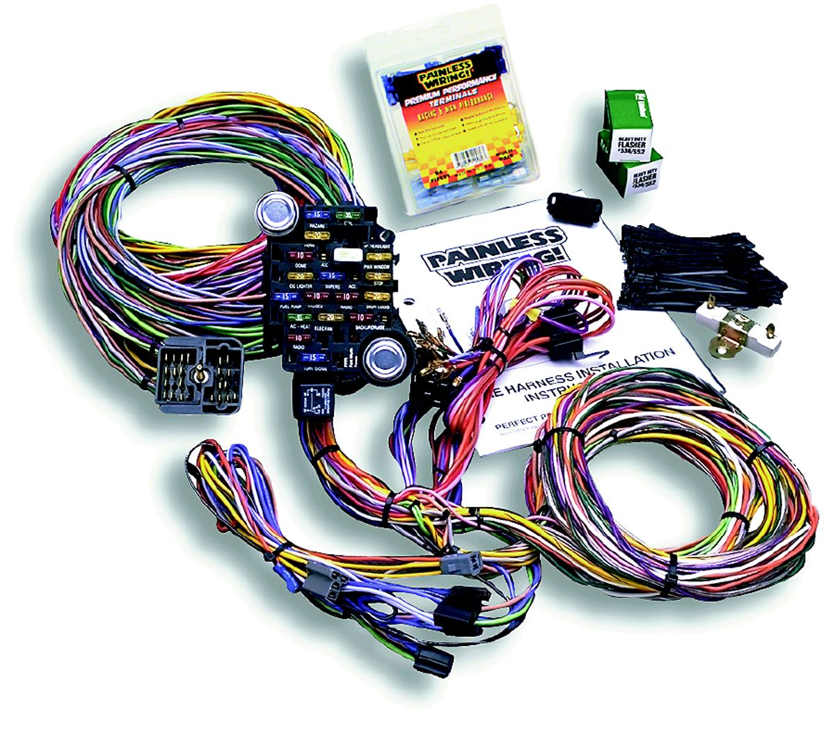 painless wiring harness and chassis 10205 painless wiring chassis wiring harness 27 circuit  10205 painless wiring chassis wiring