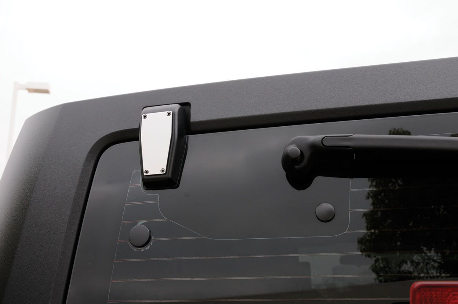 10483 T-Rex Truck Products Rear Window Hinge Cover Polished
