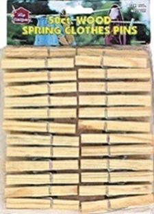 105960 Howard Berger Clothespin Wood