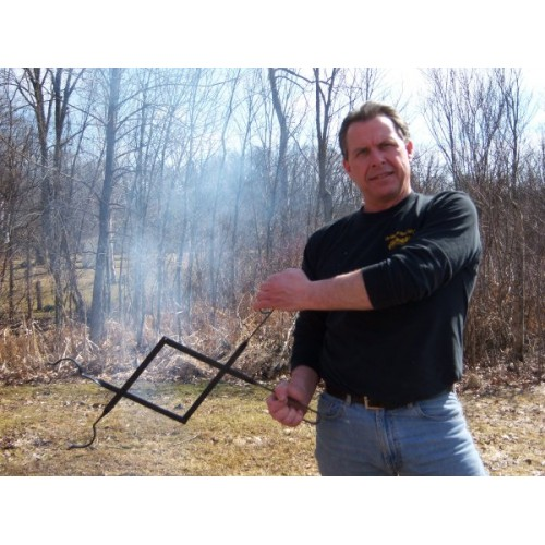 1061 Campfire Campfire Tongs Used For Moving Hot Burning Logs
