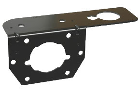 11-627 Pollak Trailer Wiring Connector Mounting Bracket For Use With
