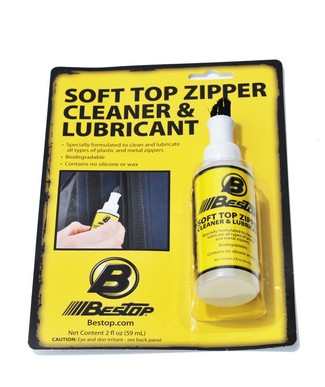 11206-00 Bestop Soft Top Care Kit With One 2 Ounce Zipper Cleaner and