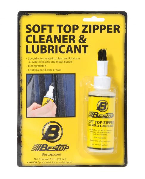 11216-00 Bestop Soft Top Care Kit With One 2 Ounce Zipper Cleaner and