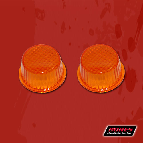1131 Bores Guide Warning Light Lens Replacement For Bumper Guide Parts