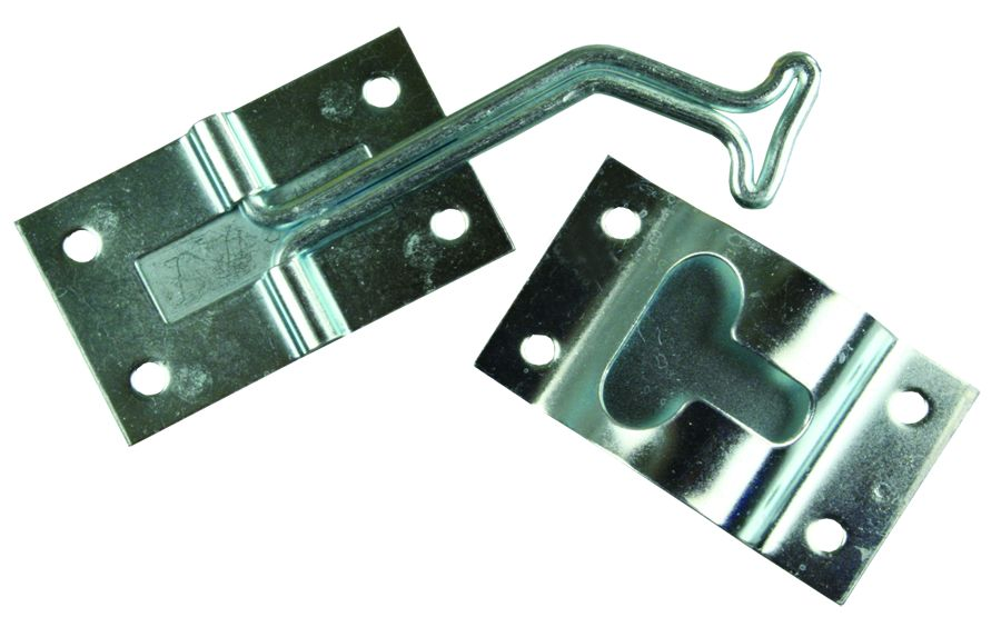 11755 JR Products Door Catch 45 Degree T-Style