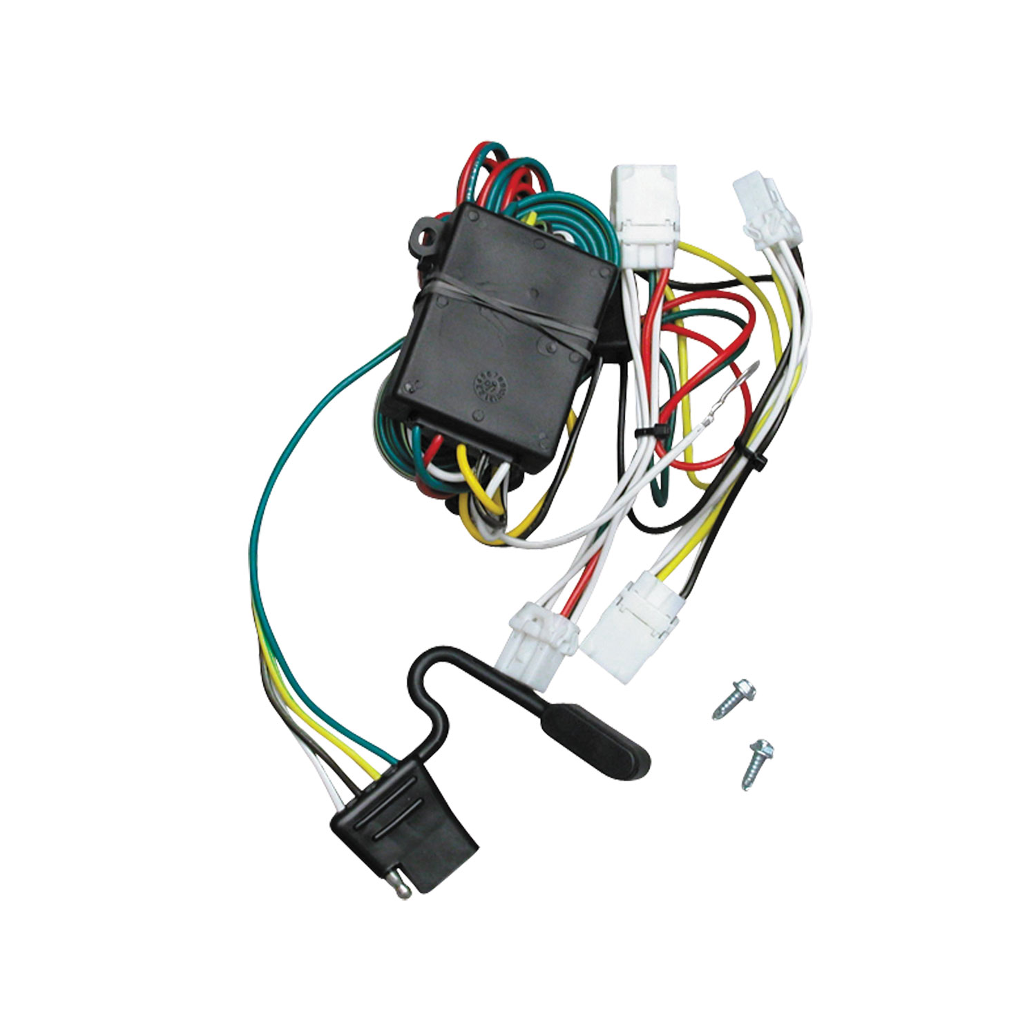 118432 Tekonsha Trailer Wiring Connector 4 Way Flat Replacement For ...