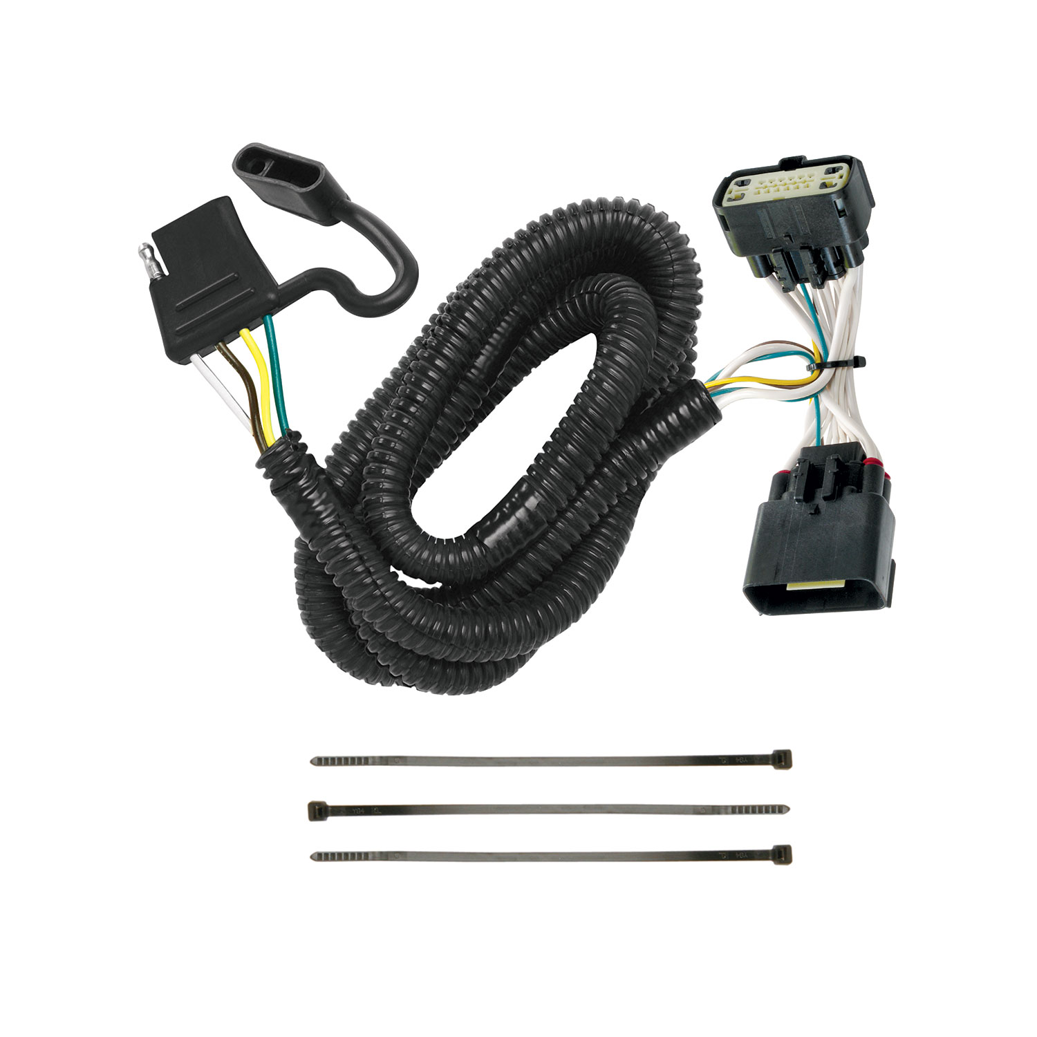118540 Tekonsha Trailer Wiring Connector 4 Way Flat Replacement For ...