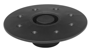 12-1127 Detroit Marine Engine Table Leg Base Round