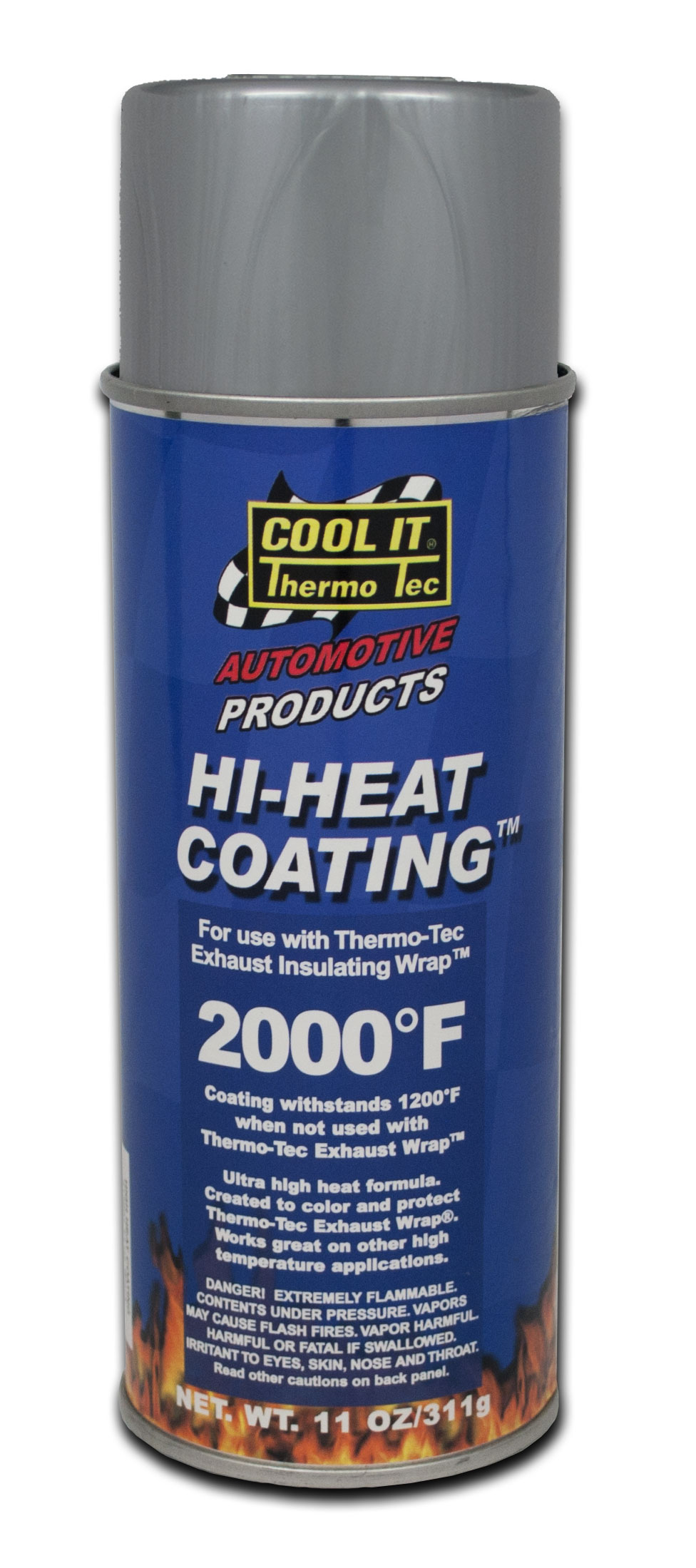 12002 Thermo-Tec Heat Shield Coating For Use With Exhaust Insulating