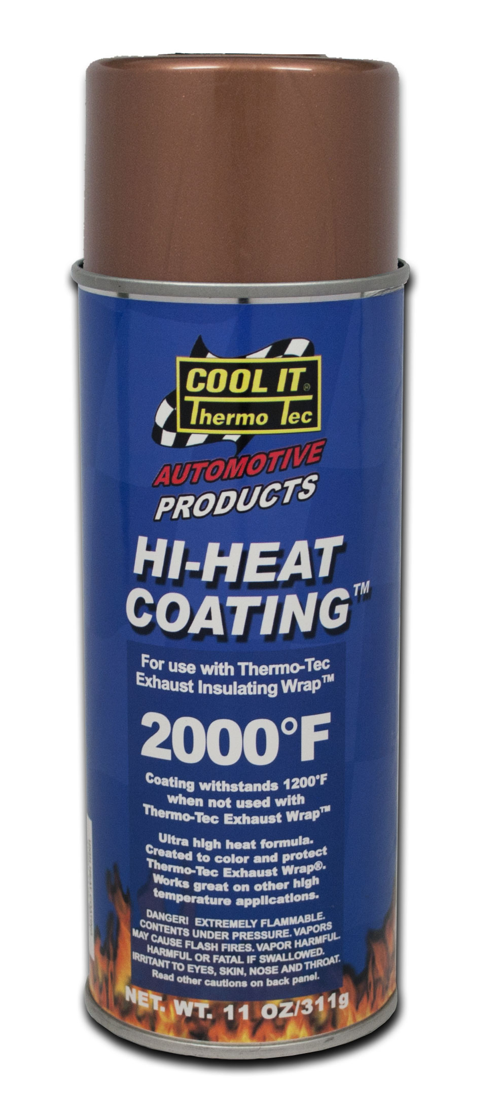 12003 Thermo-Tec Heat Shield Coating For Use With Exhaust Insulating