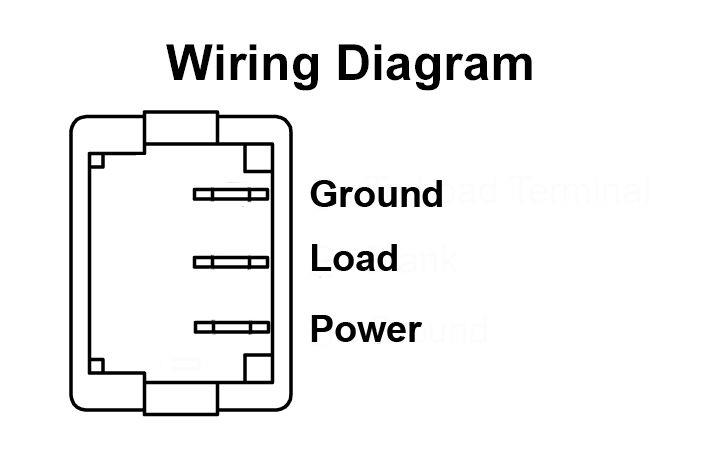 daystar rocker switch wiring diagram rocker switches  mini  illuminated for rv  trailer  and 5th wheels  rocker switches  mini  illuminated for