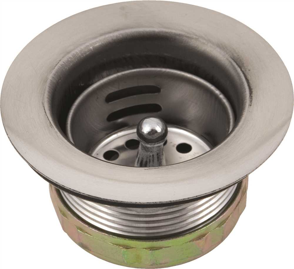 122079 Hardware Express Sink Strainer Fits 2-1/2 Inch Drain Outlet