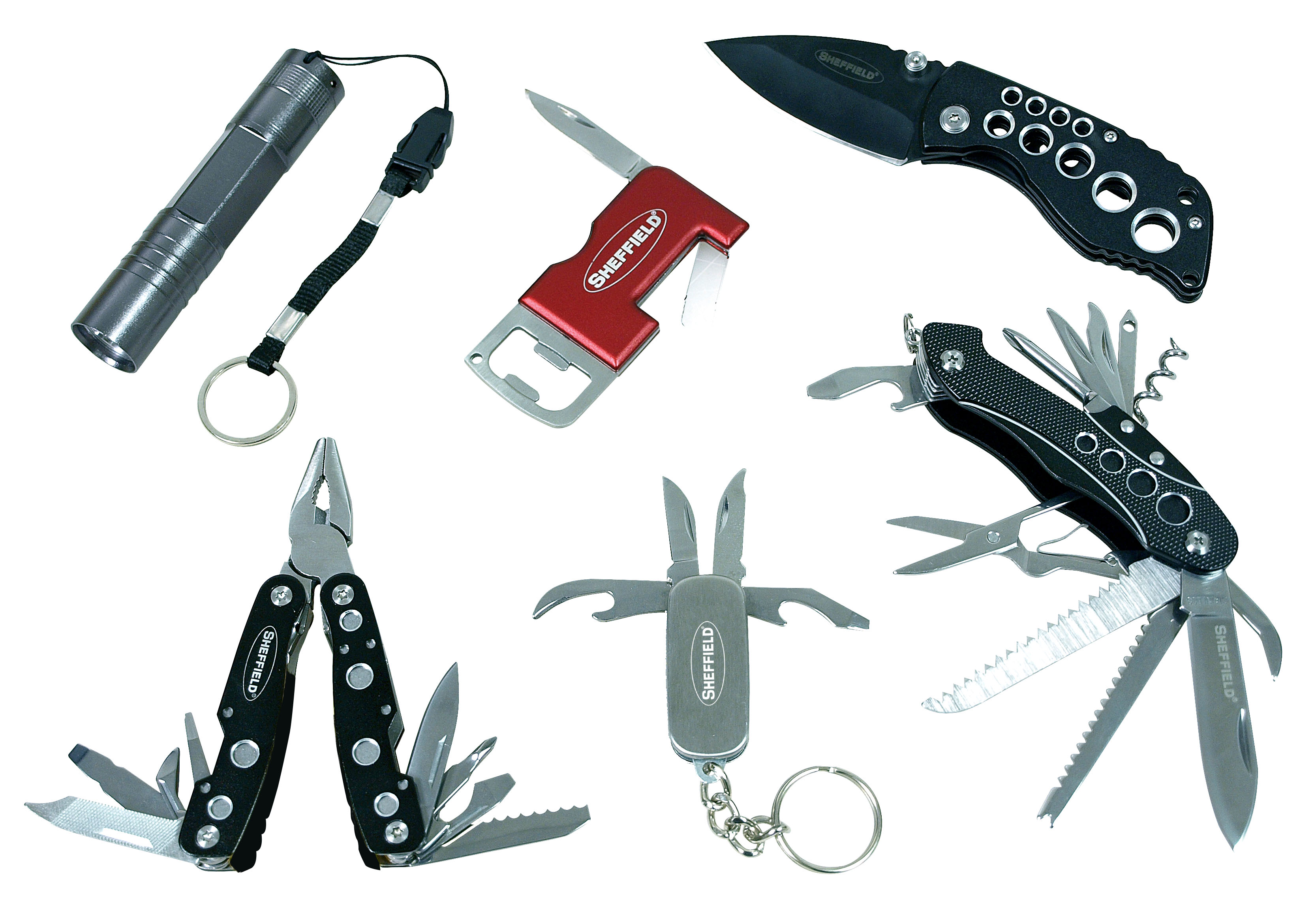 12312 Great Neck Tools Multi Function Tool Use As Knife/ Plier/