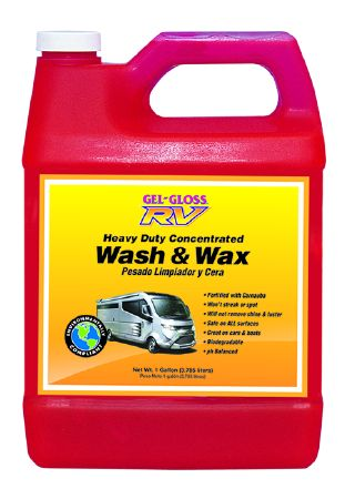 WW-128 TR Industry/ Gel Gloss Car Wash And Wax Clean/ Protect And