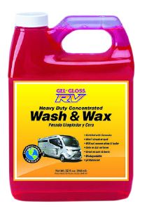 WW-32 TR Industry/ Gel Gloss Car Wash And Wax Clean/ Protect And