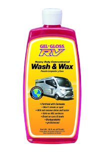 WW-16 TR Industry/ Gel Gloss Car Wash And Wax Clean/ Protect And