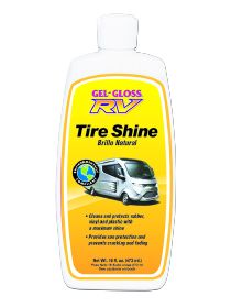 RVTS-16 TR Industry/ Gel Gloss Tire Cleaner 16 Ounce Bottle