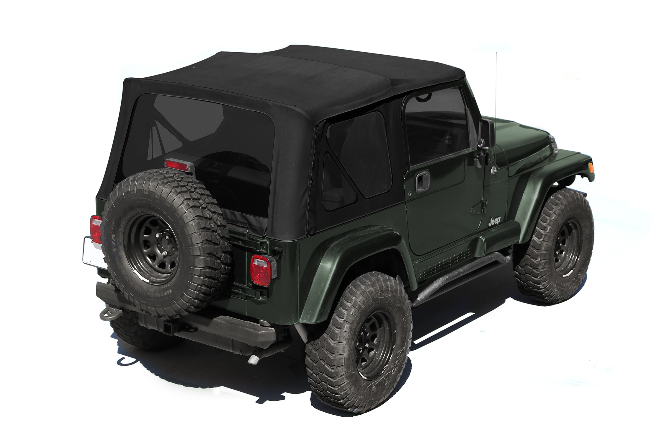 13760.35 Rugged Ridge Soft Top Black