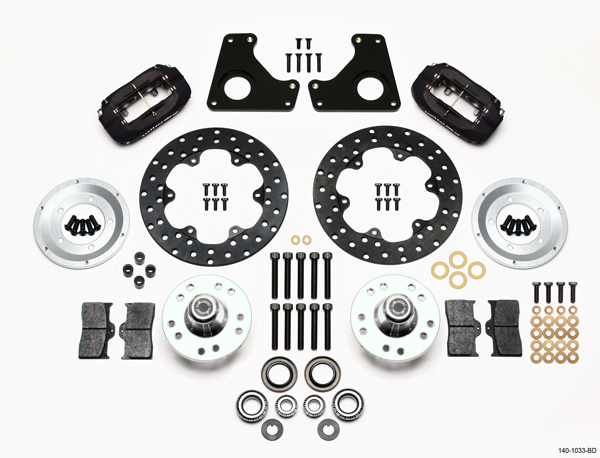 Disc Brake Hardware Kit Front Carlson 13476