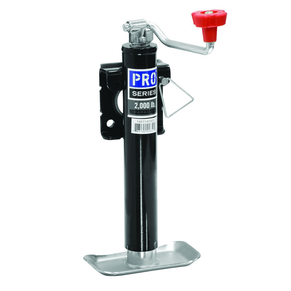 1401140303 Pro Series Hitch Trailer Tongue Jack Manual Trailer Jack -