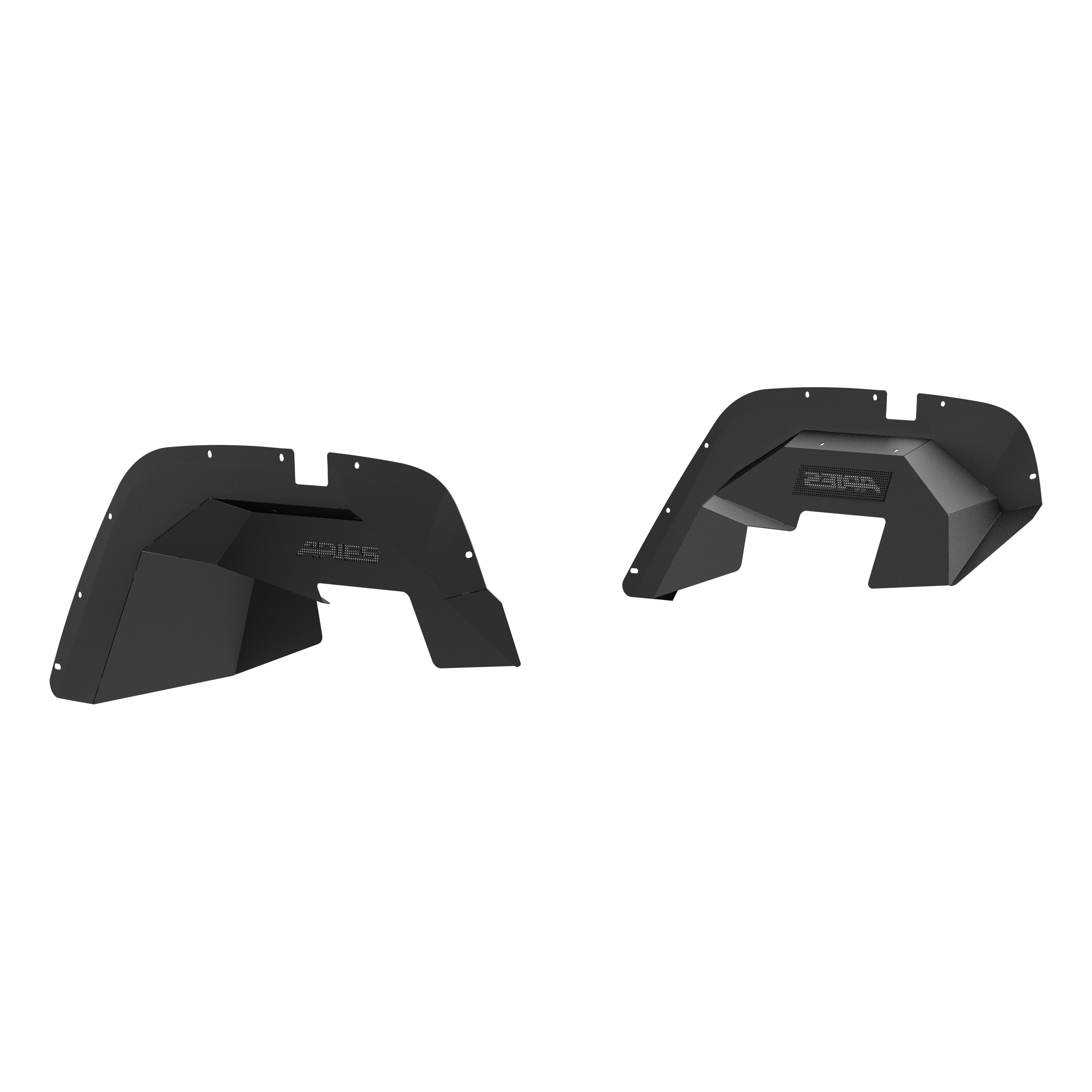 1500350 Aries Fender Well Liner Powder Coated