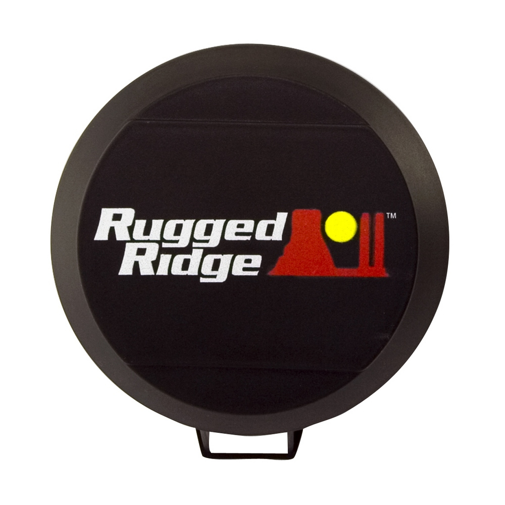 15210.50 Rugged Ridge Driving/ Fog Light Cover 6 Inch Round