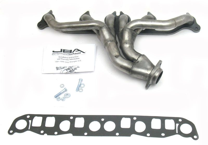 1526S JBA Headers Exhaust Header Shorty Chassis Exit
