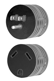 16-00500 Voltec Power Cord Adapter For Connecting RV Power Inlet To