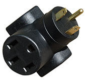 16-00582 Voltec Power Cord Adapter For Distributing Power From