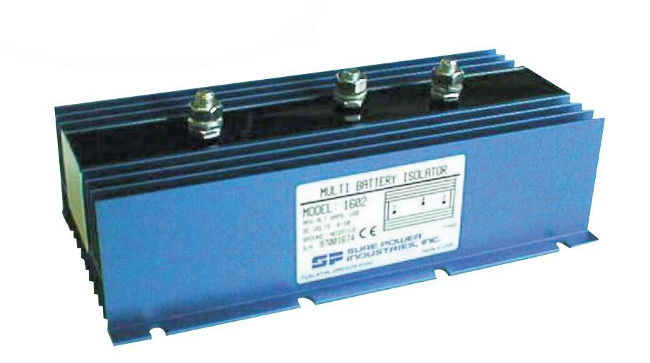 1602-B Sure Power Battery Isolator Use To Eliminate Multi-Battery