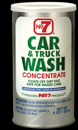 16140 Number 7/Cyclo Car Wash Powder Concentrate