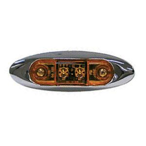 V168XA Peterson Mfg. Side Marker Light- LED Mini Clearance/ Side