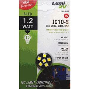 145803140-Jc10S-Cw Service Goexport Inc. Replacement Bulbs Rv #Jc10 Side Bulb 6 Led 12V
