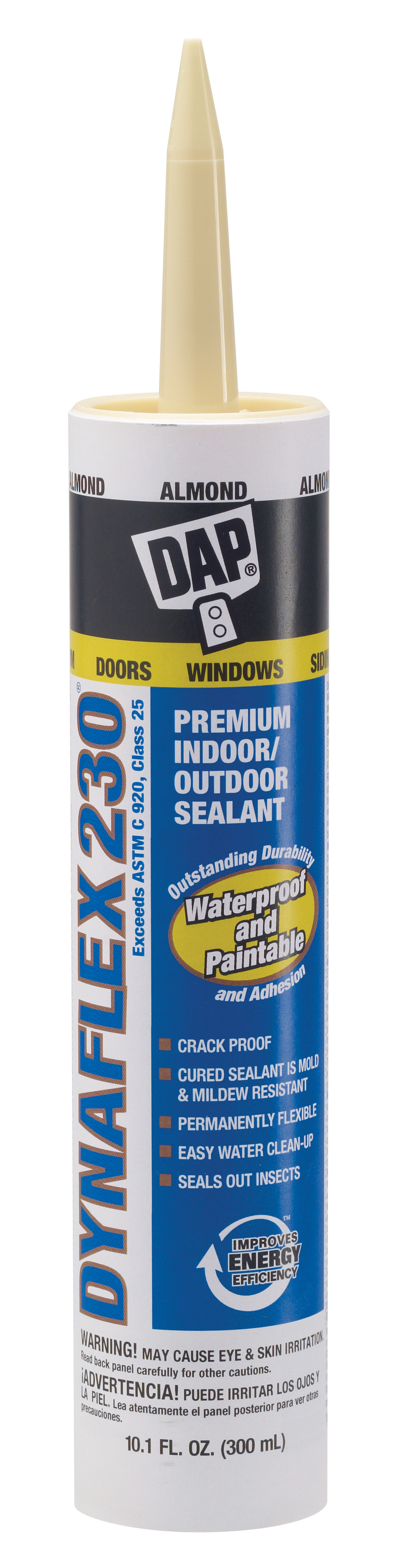 18288 DAP Caulk Sealant Used For Both Interior And Exterior