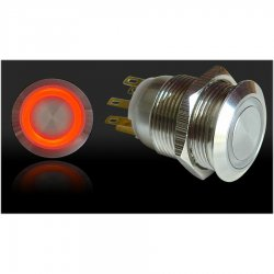 SW42R Keep it Clean Wiring Push Button Switch Momentary