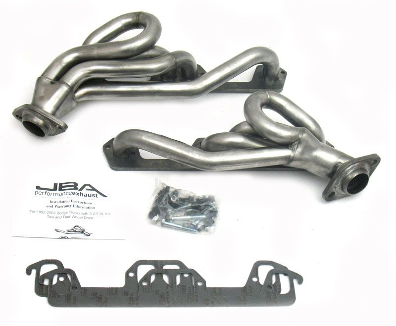 1945S-1 JBA Headers Exhaust Header Shorty Chassis Exit