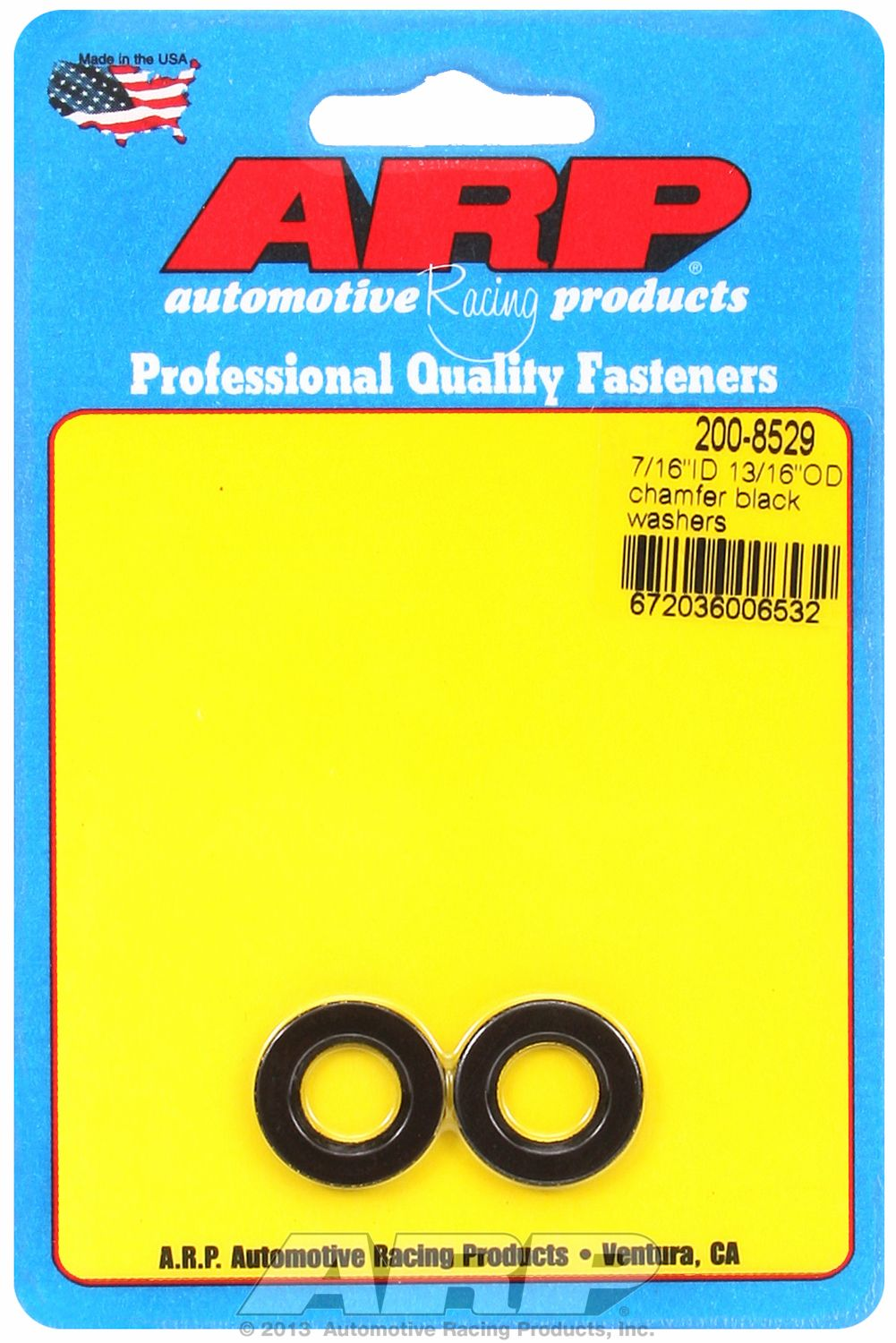 200-8509 ARP Fasteners Washer Chrome Moly