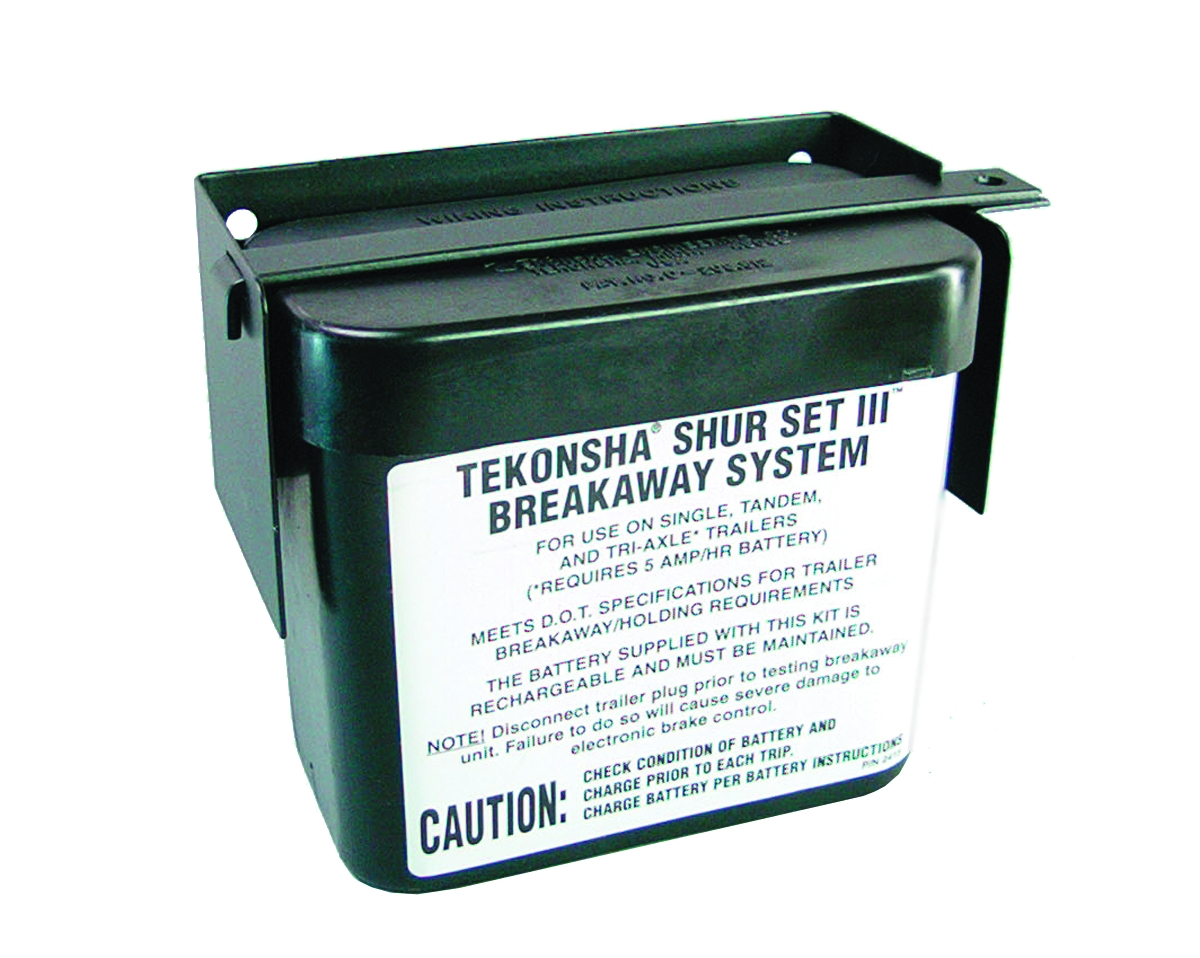 20000 Tekonsha Battery Box Fits Trailer Breakaway Battery