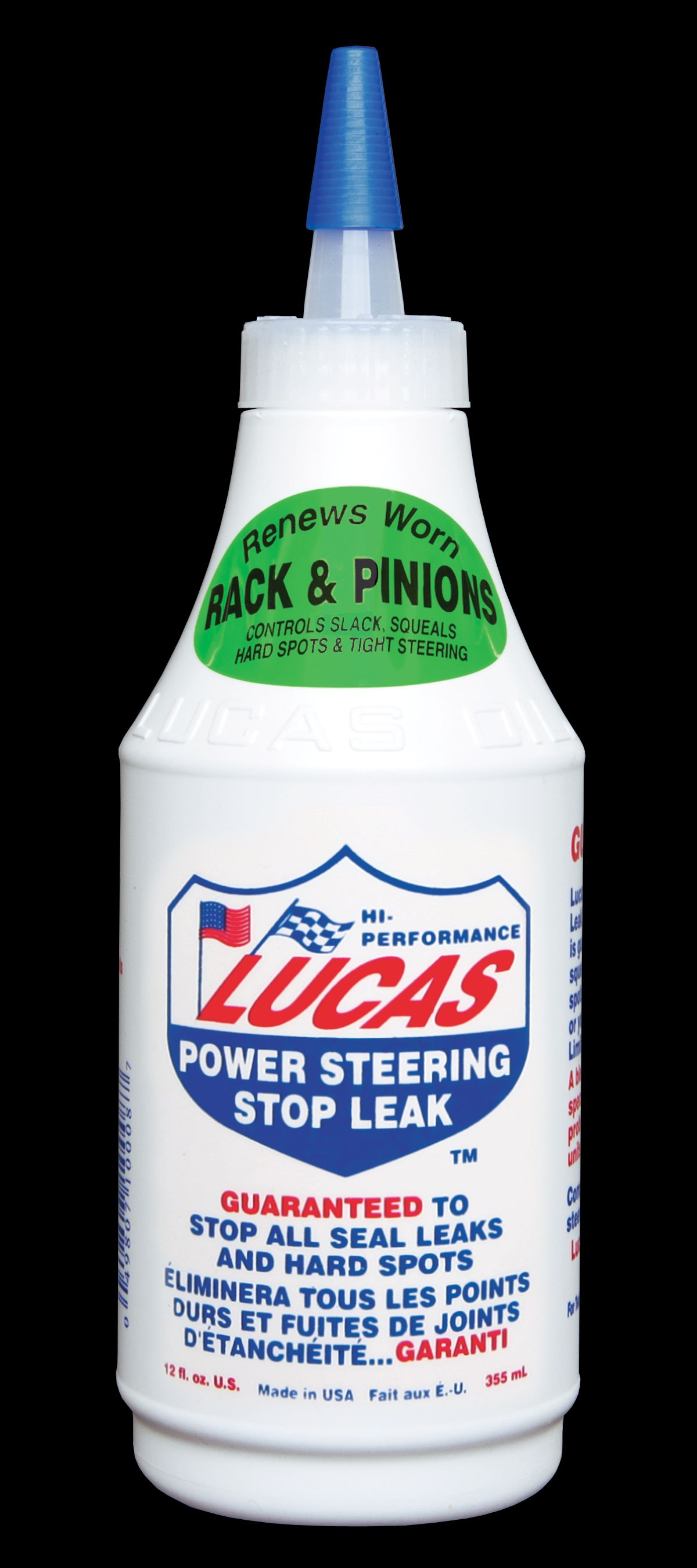 20008 Lucas Oil Canada Power Steering Fluid 12 Ounce Bottle