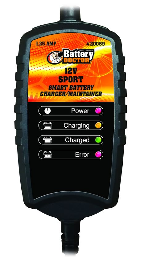 20069 WirthCo Battery Charger For 12 Volt Batteries