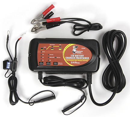20085 WirthCo Battery Charger For 12 Volt Batteries