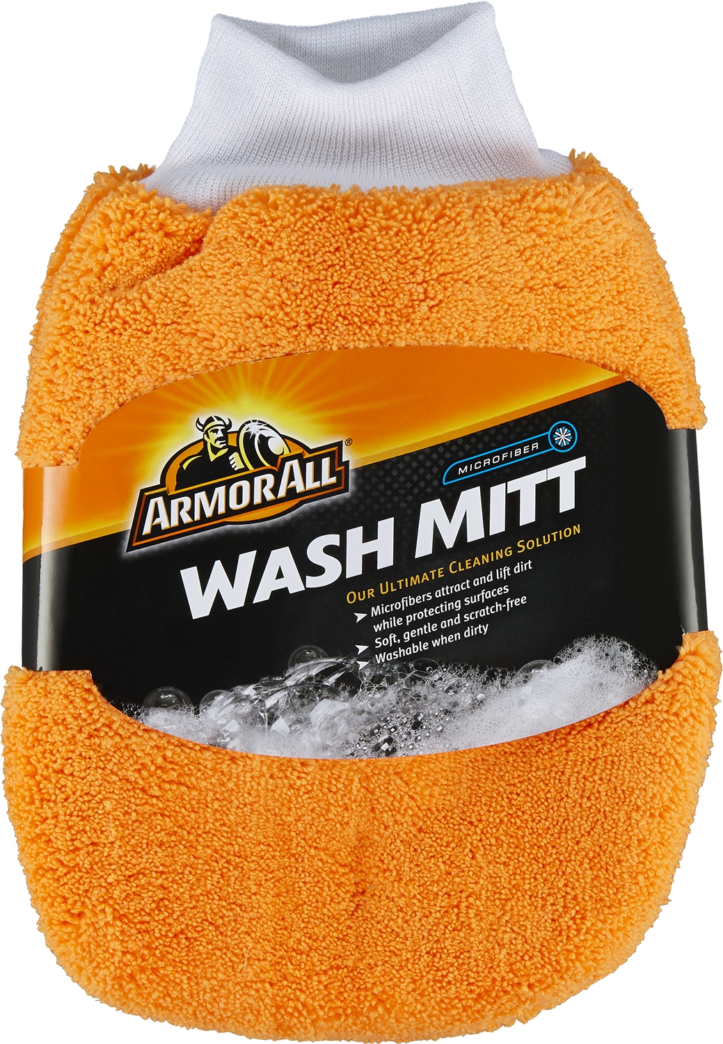 17614 Armor All/ STP Car Wash Mitt Microfiber