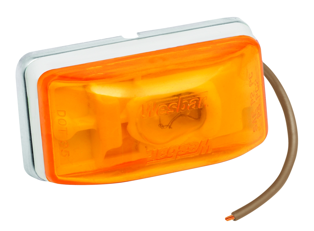 203233 Bargman Trailer Light Side Marker Light