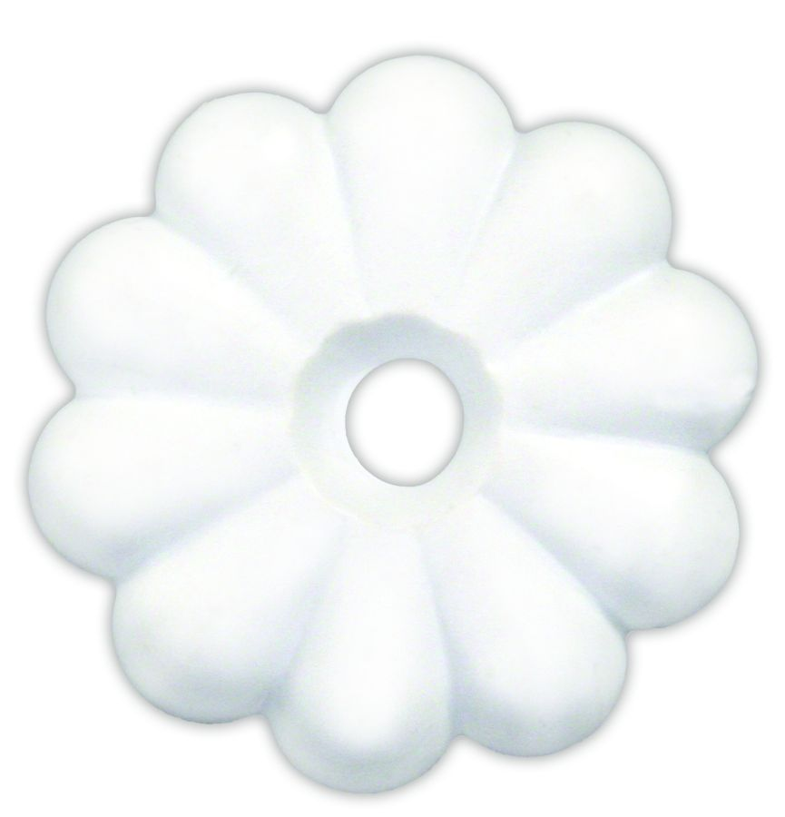 20455 JR Products Screw Rosettes Use On Ceiling Panels