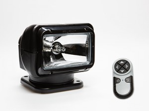 2051 GoLight Spotlight Black Rectangular Housing