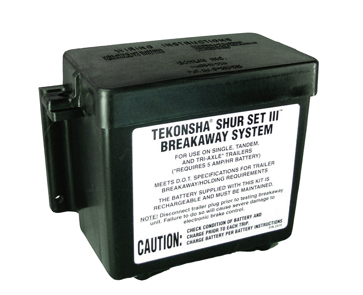 2051 Tekonsha Battery Box Fits Trailer Breakaway System Lead Acid