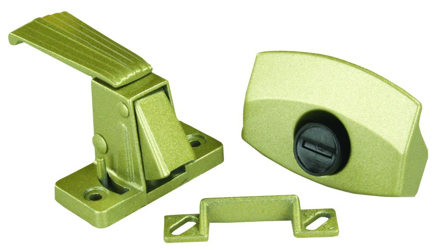 20515 JR Products Entry Door Latch Non-Locking