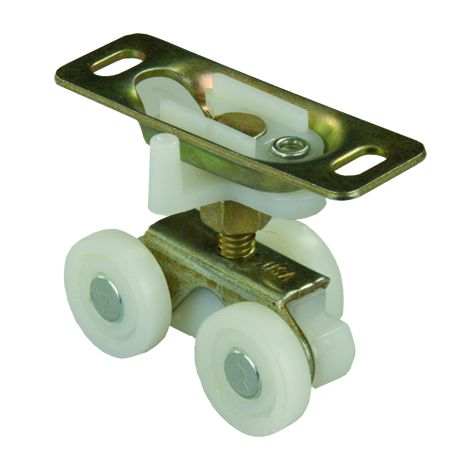 20565 JR Products Interior Door Roller Use With Pocket Style Or