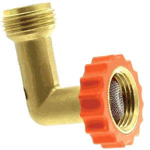 20647 Aqua Pro Fresh Water Hose End Protector 90 Degree Connector